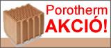 Porotherm tégla akciós áron!